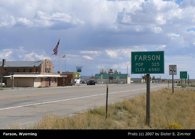 39d Farson Wy