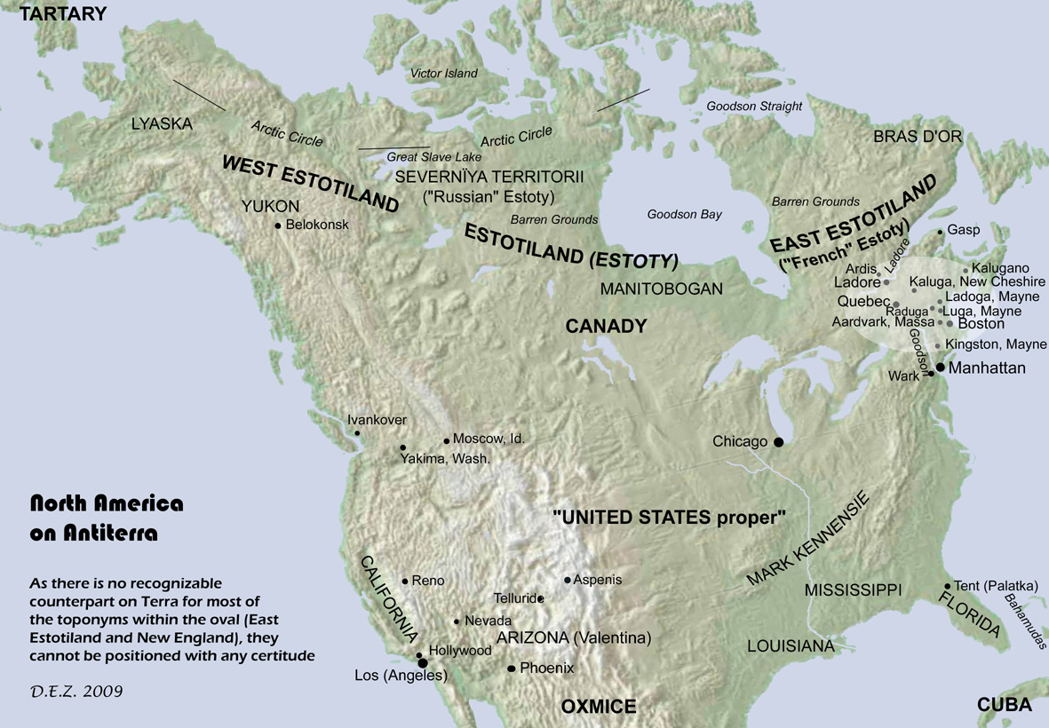The Geography of Anerra on